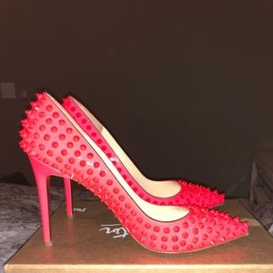 Christian louboutin Pigalle Spikes 100